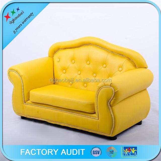 High Class 2 Seat Sofa Bright Colored PU Leather Sofa Set