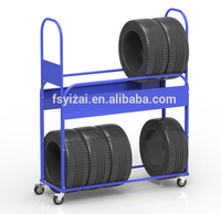 Adjustable Powder Coated Commercial Storage Display Truck Tire ...
