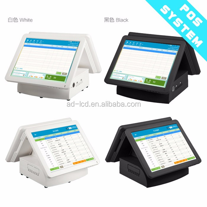 "15""17"" 19"" touch screen pos terminal all in one pos windows system terminal"