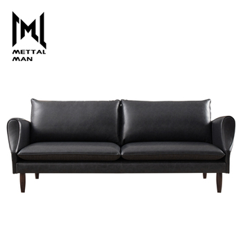 Luxury Black Leather Sofa Modern 2 Seater Living Room Leather Furniture  Couches 3 Seater Black Leather Sofa - Buy Leather Recliner Sofa,Living Room  ...