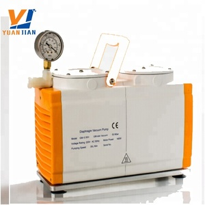 China supply Lab silent PTFE membrane diaphragm vacuum pump