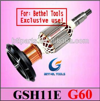 Gsh 11e Rotor Armature,Spare Parts For Bosch 11e Demolition Hammer ...