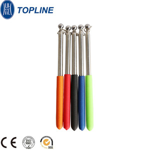 1 Meter 5 Colors Baton Advertising Extendable Pole Portable Handheld Flag Pole Telescopic Pole Pointer for Presentations