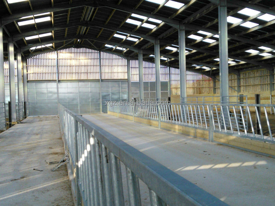 Steel Structure Sheep Farm Shed