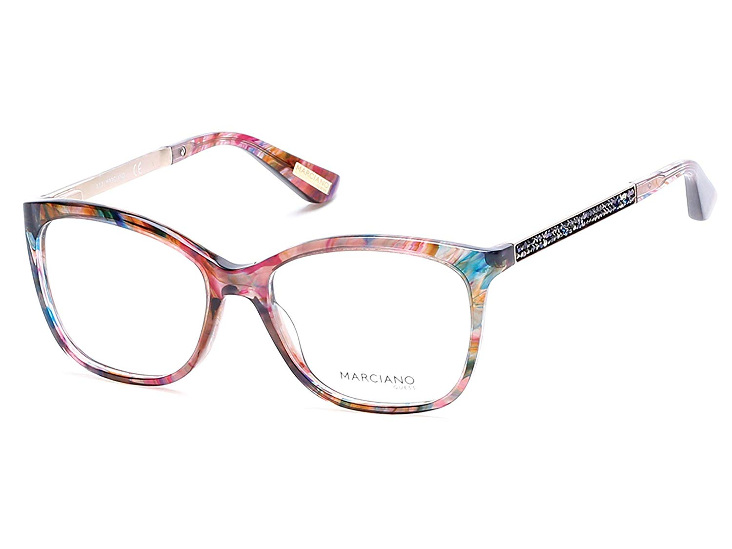Guess by Marciano - GM0281, Geometric, acetate, women, COLORED HAVANA(083 B)