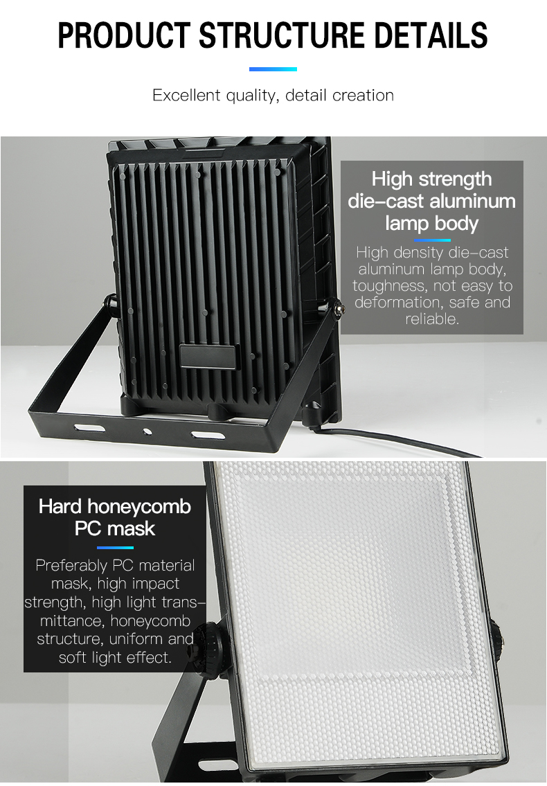 HIGH CLASS Ip65 garden rainproof wall mount 30watt 50watt 100watt 150watt led flood light