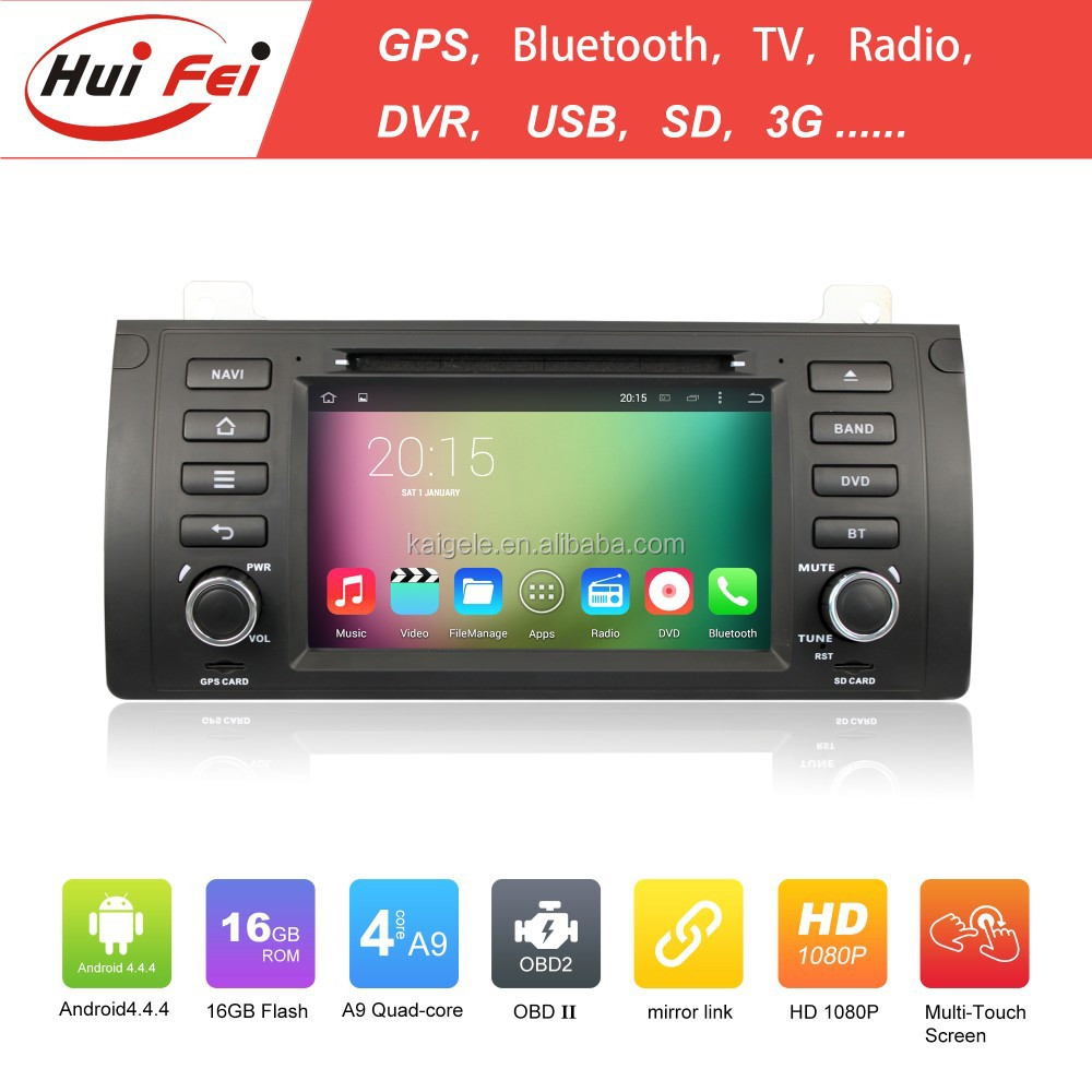 Car Entertainment System Navigation With Bluetooth For BMW X5 Series Android Car DVD For BMW E53 E39