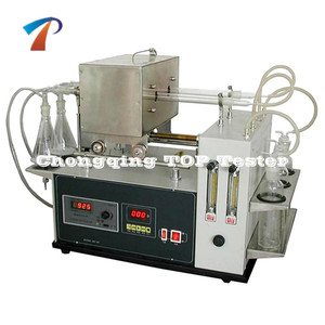 Selected Laboratory Lubricant Oil Analysis Equipment/Dark Petroleum Product Sulfur Content Testing Machine/Heavy Oil Measurer