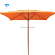 Multi Manual Double Top Two Outdoor Shade Large Folding Beach Square Umbrella