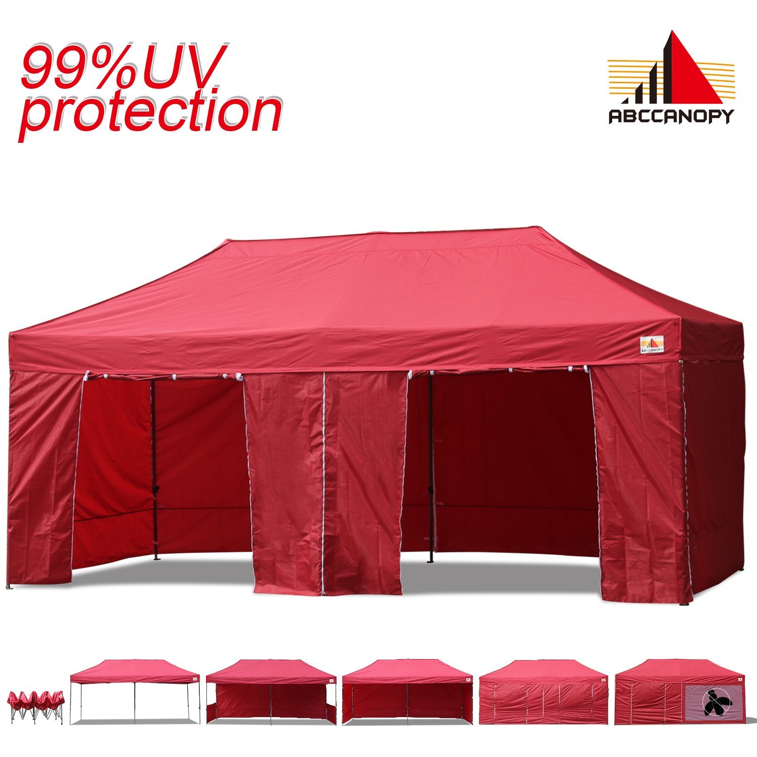 Get Quotations · AbcCanopy 10x20 EZ Pop up Canopy Tent Instant Shelter Commercial Portable Market Canopy with Matching Sidewalls  sc 1 st  Alibaba & Cheap 12x12 Canopy Sidewalls find 12x12 Canopy Sidewalls deals on ...
