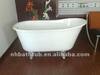 Short Bathtub/freestanding Baby Bath/antique Clawfoot Tub