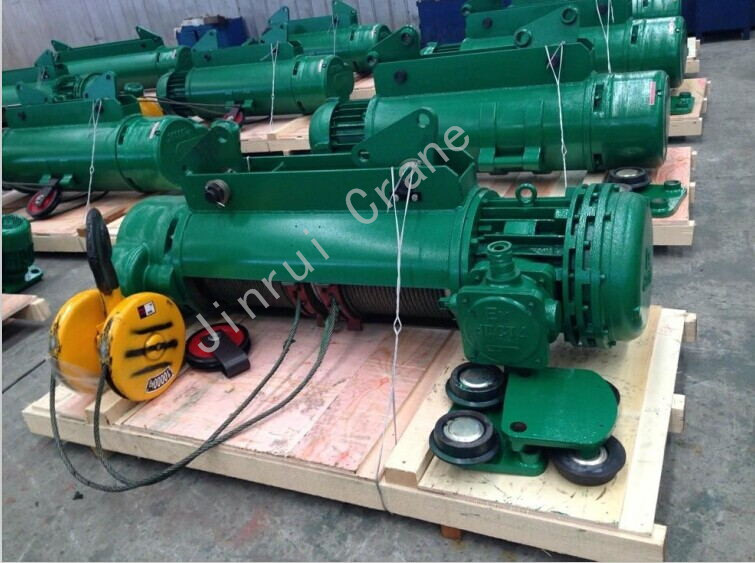 Small Lifting Equipment 5 Ton Wire Rope Motored Electric Hoist Price
