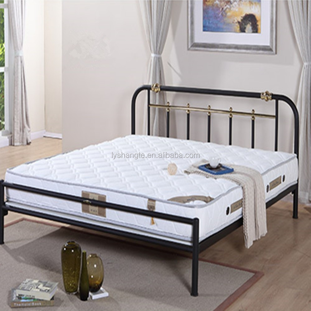 Design Furniture Bedroom Single Bed Iron Single Bed For