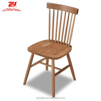 Cheap wooden Windsor dining chair for home Solid dining chair ZJ-W01