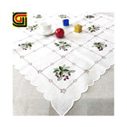 nappe decorative marriage modern wedding table cloth fabric embroidered
