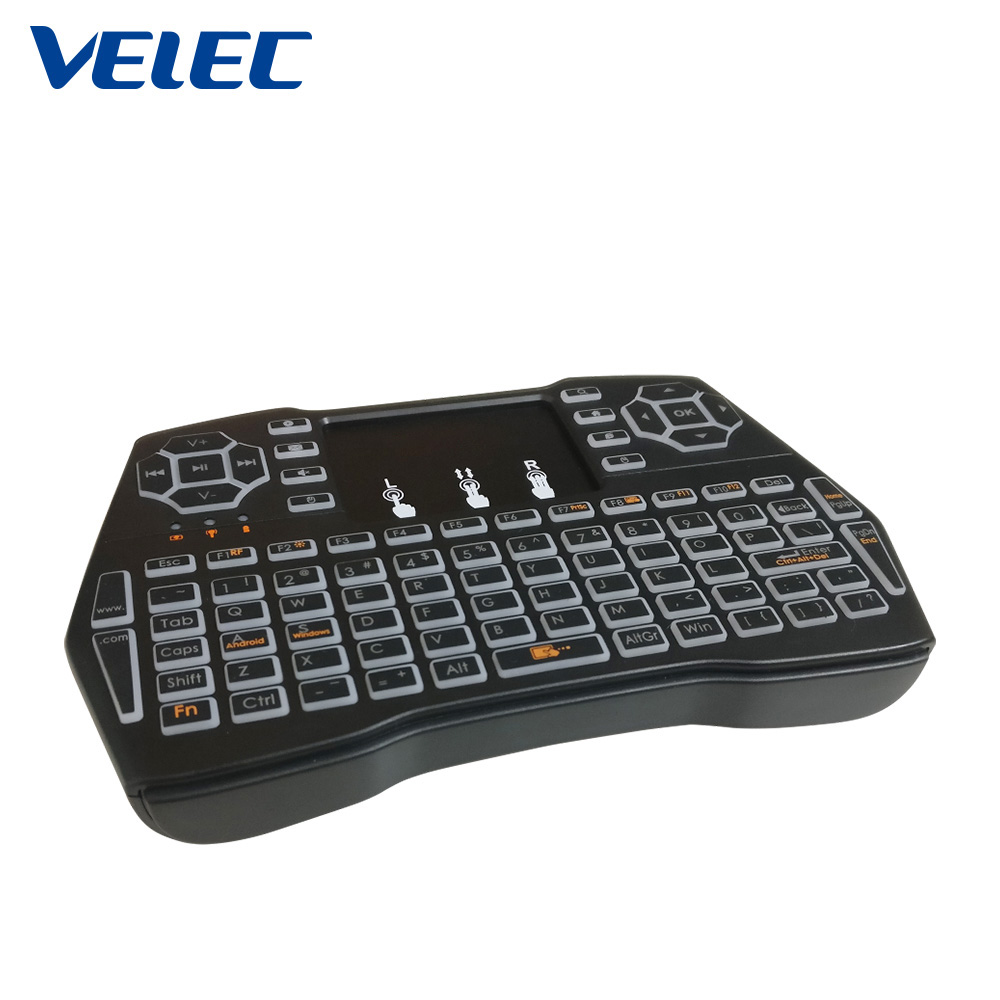 High output factory supply rechargeable gaming air backlit wireless mouse and keyboard combos