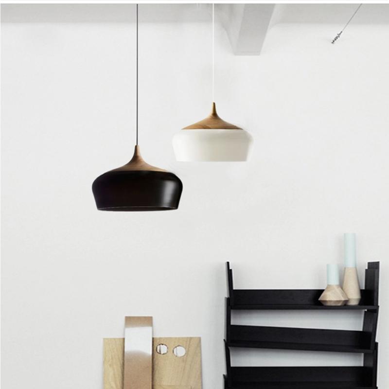 Morden Wood Lamp Pendant Lamps Light Fixtures Wooden