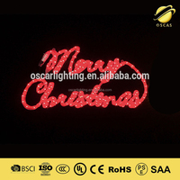 merry christmas letter light multi color led rope light chirstmas motif lights