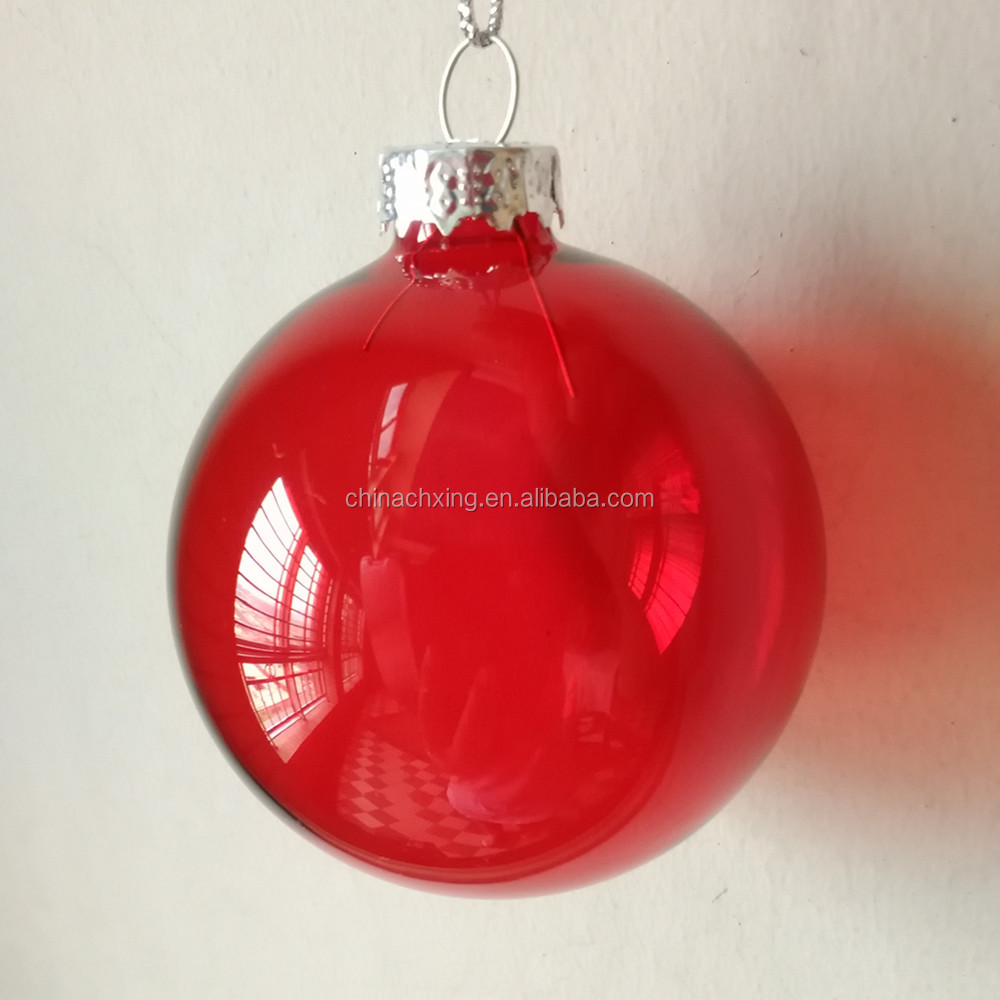 decorating christmas balls clear red colored glass bauble buy decorating christmas balls product on alibabacom