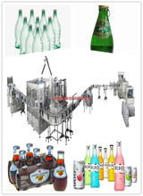 Carbonated Drink Filling Line Soda Water Sparkling Drink Production Line