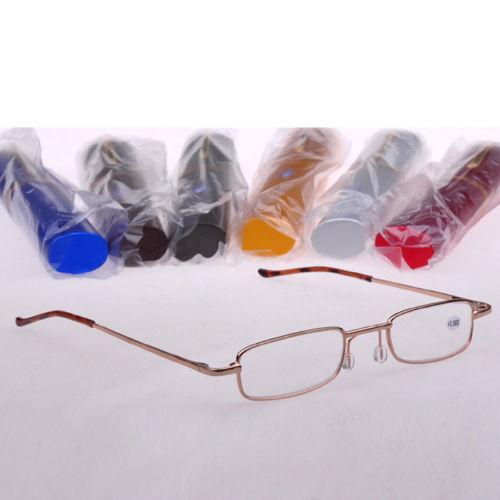 Карманн ручки очки для чтения линзы с чехол + 1.0 + 1.5 + 2.0 + 2.5 + 3.0 + 3.5 + 4.0