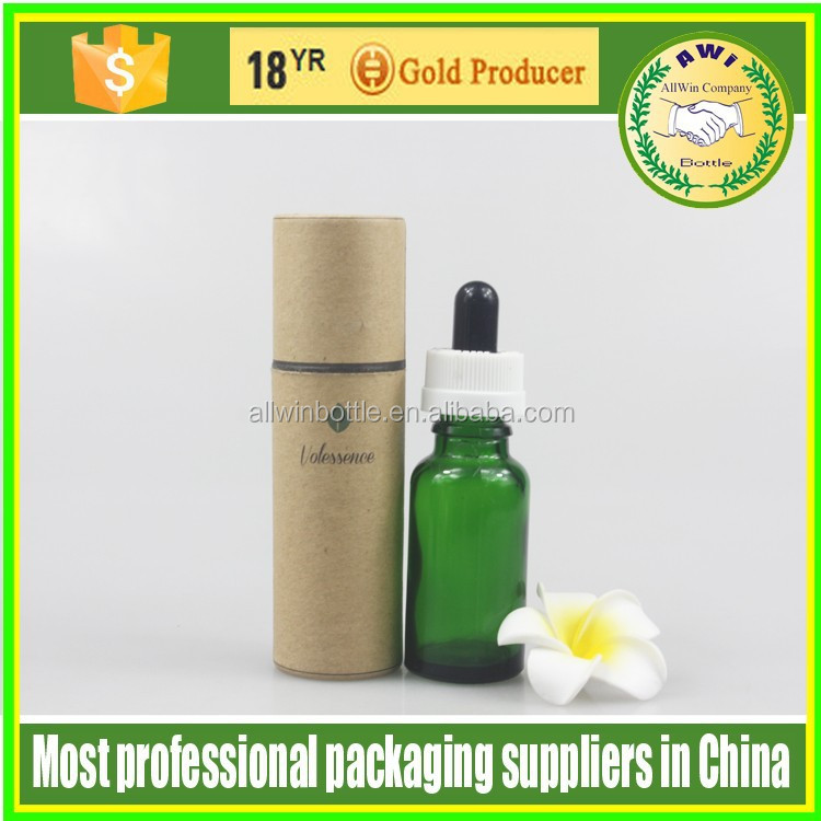 packaging box high quality luxury golden foil cosmetic paper tubes for perfume