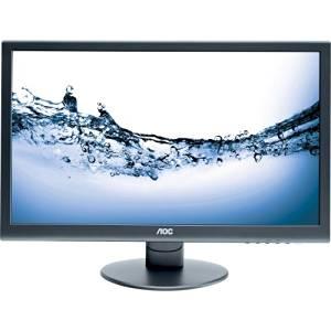"""Aoc E2752vh - Led Monitor - 27"""" - 1920 X 1080 - 300 Cd/M2 - 20000000:1 (Dynamic) - 2 Ms - Hdmi, Dvi-D, Vga - Speakers - Glossy Black """"Product Type: Peripherals/Lcd & Led Monitors"""""""