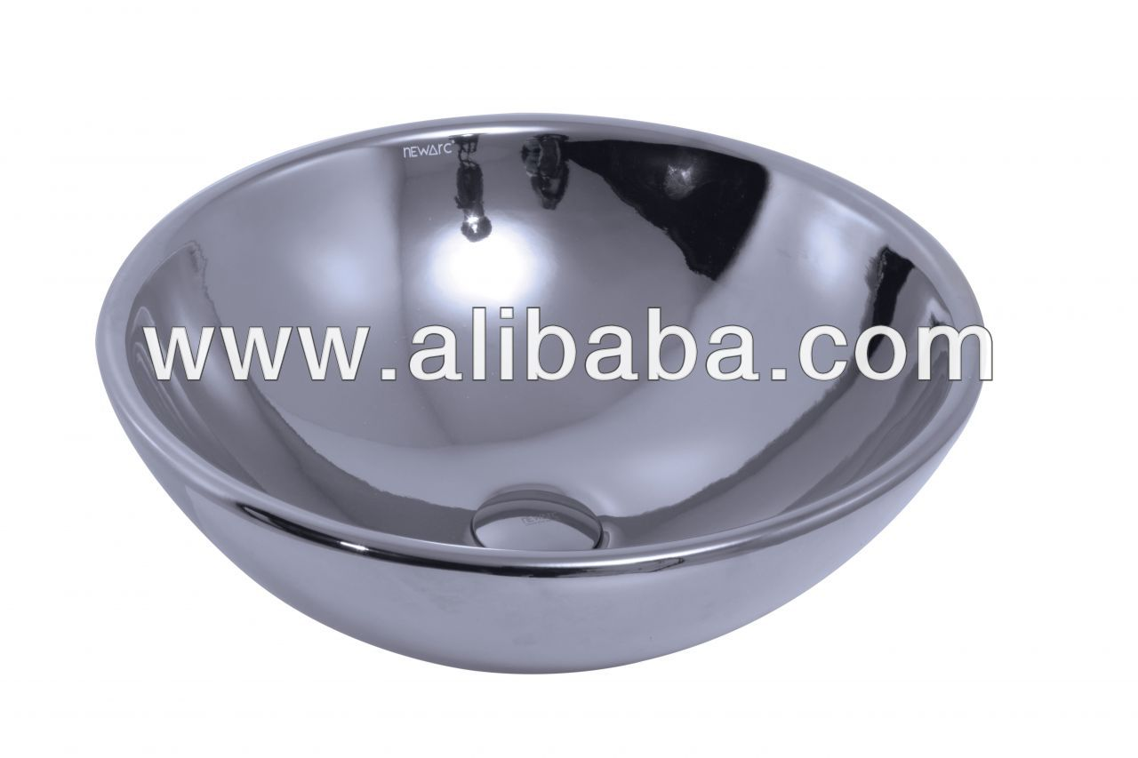 Round Countertop Sink Bowl Chrome