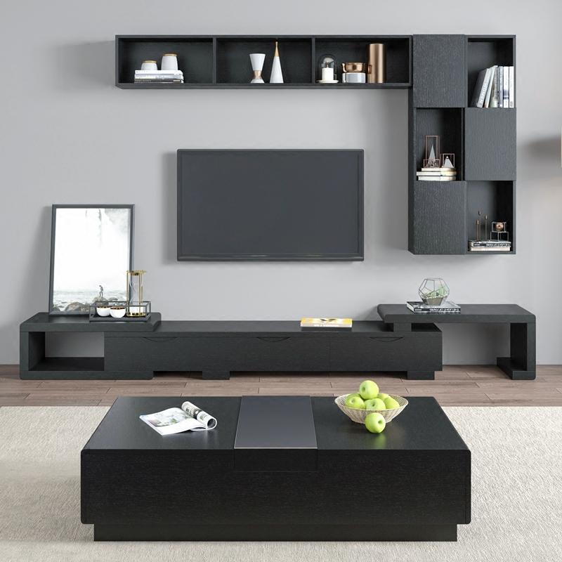 Moderne Mdf Alle Holz Schiebetur Tv Schrank Design Mit Fall Und