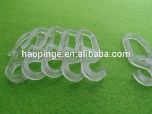 Plastic Curtain Hooks For Curtains Accessories Tieback Hook