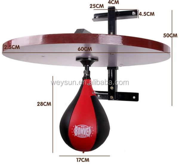 equipo de entrenamiento de boxeo punching ball speed bolsa. Black Bedroom Furniture Sets. Home Design Ideas