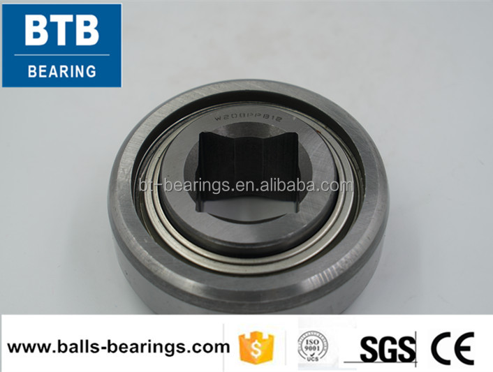 Agricultural bearing deep groove ball bearing square bore W208PPB12 bearing