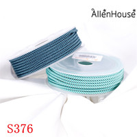 New Arrival 2mm 3mm Round Nylon Braided Knotting Silk Rope Milan Cord for Jewelry Making