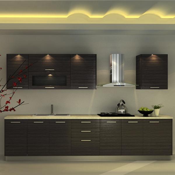 Oppein Modular Modern Hanging Melamine Board Kitchen Cabinet ...