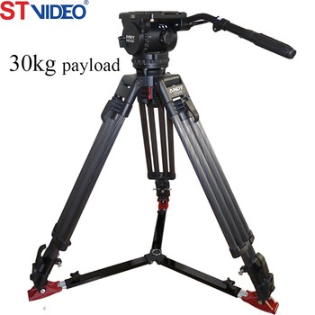 Compact Portable Carbon Fiber For Ground Spreader Outside Shooting Tripod  Kit