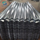 China manufacturing iron corrugated steel roofing sheet / gi sheet
