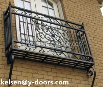 Balcon En Fer Forgé Garde Corps Et Balustrade De Fenêtre