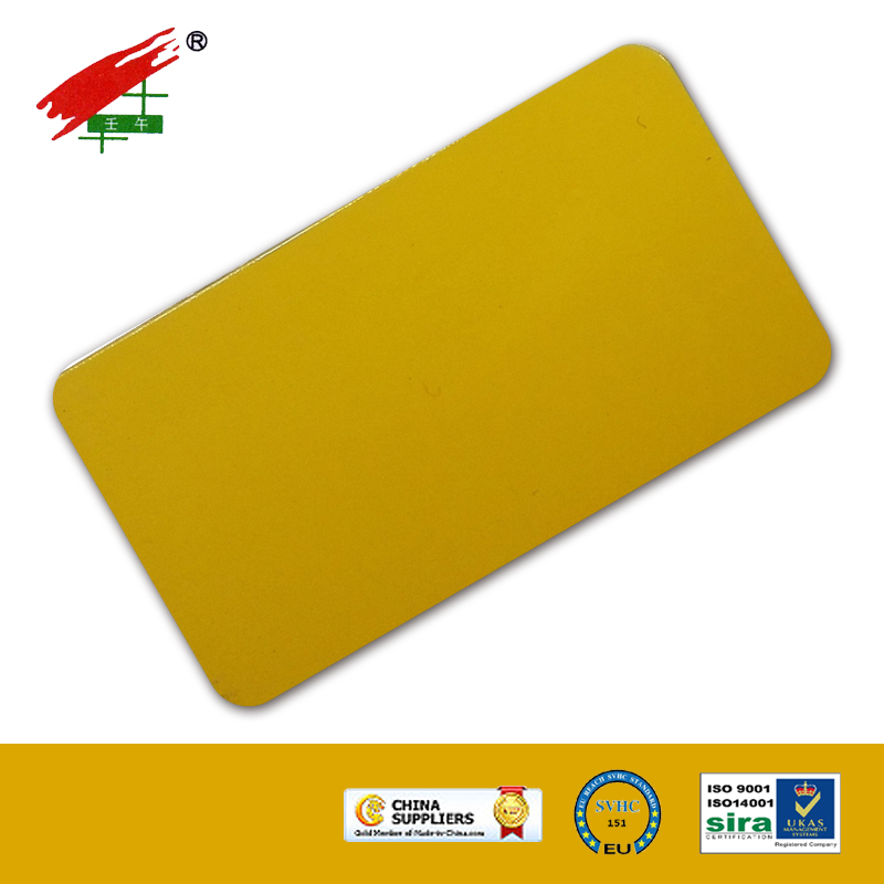 Indoor Use Powder Paint--- Ochre Yellow
