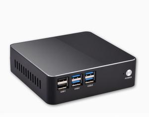 Eglobal Ultra Low Power Thin Client Desktop Computer 1000 Ethernet Fan  system Ubuntu Mini PC 12V core i3 5010u win10