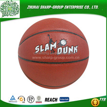 PVC/PU laminated Size 7 outdoor moteln molten basketball