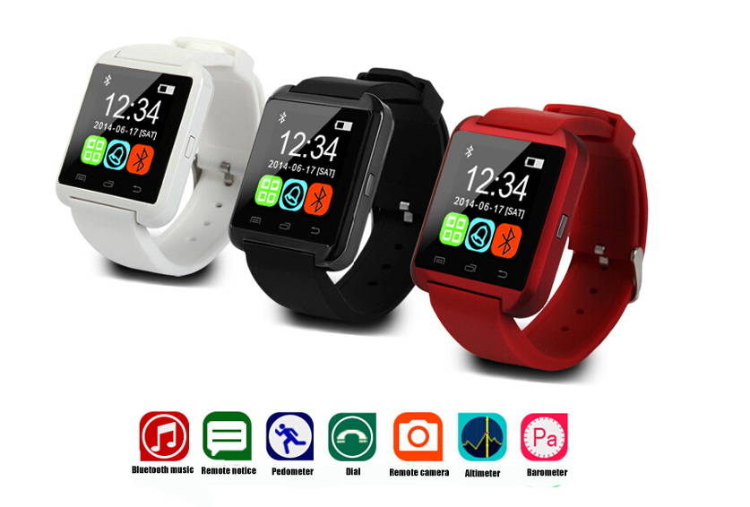2019 fashion sport u8 smart watch oem BT smart watch with factory cheap price