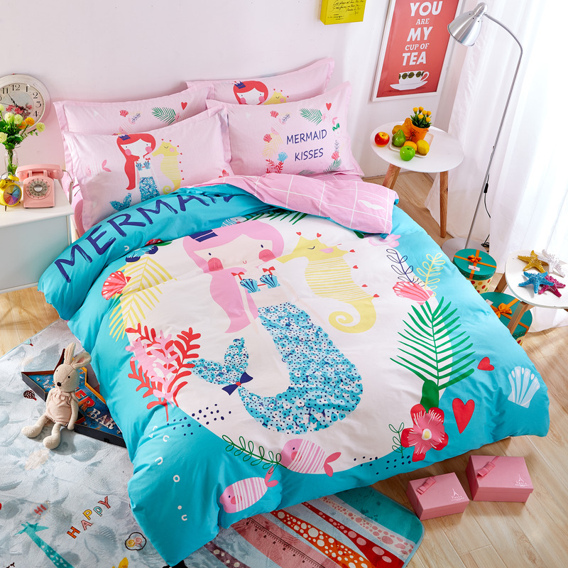 King Size Bed Sets For Sale Online Get Cheap Mermaid Sheet Set -Aliexpress.com ...