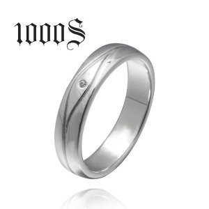 925 Sterling Silver Rings Simple Style Finger Ring for Women Wedding with AAA Zirconia European Jewelry