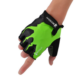 Morewin mountain bike non-slip fingerless fitness riding gloves