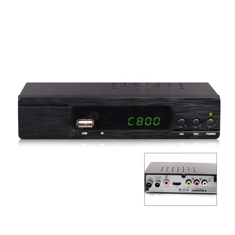 h.265 dvb t2 digital terrestrail receiver scart output czech tv tuner