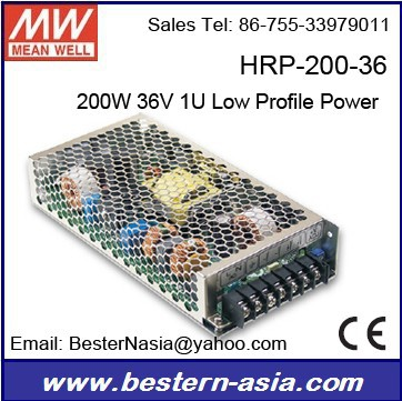 Overload protection power supply Meanwell HRP-200-36