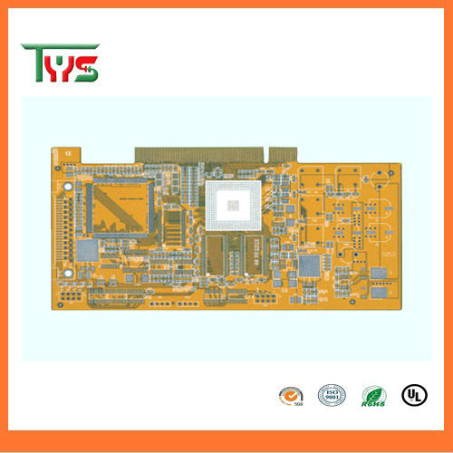 FR4 1.6mm board thickness double sided pcb with lead free HASL  Manufactured by own factory/94v0 pcb board
