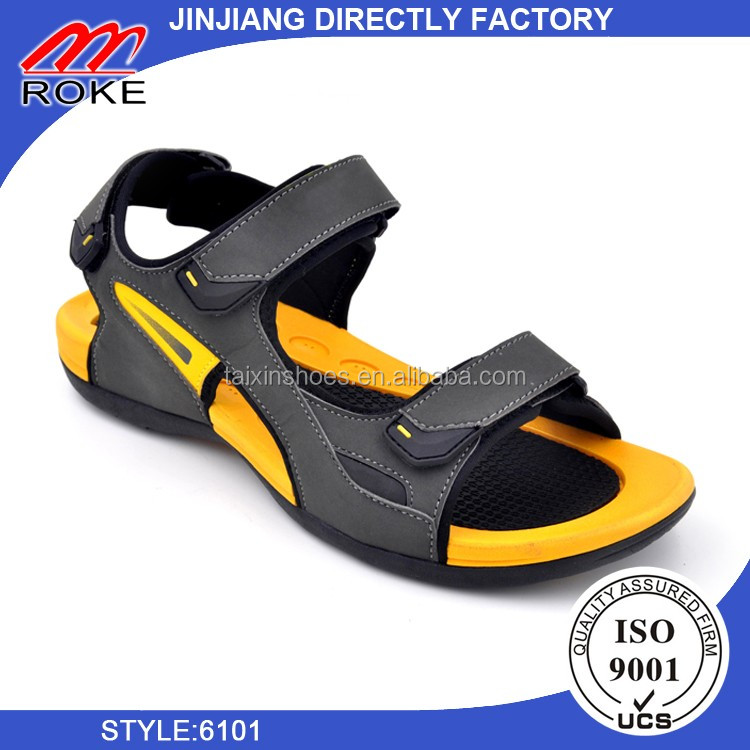 Newest ODM&OEM Wholesale PU Men Sandal Shoe