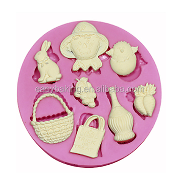 Wholesale Cake Decorating Supplies Autumn Harvest Crops Silicone ...