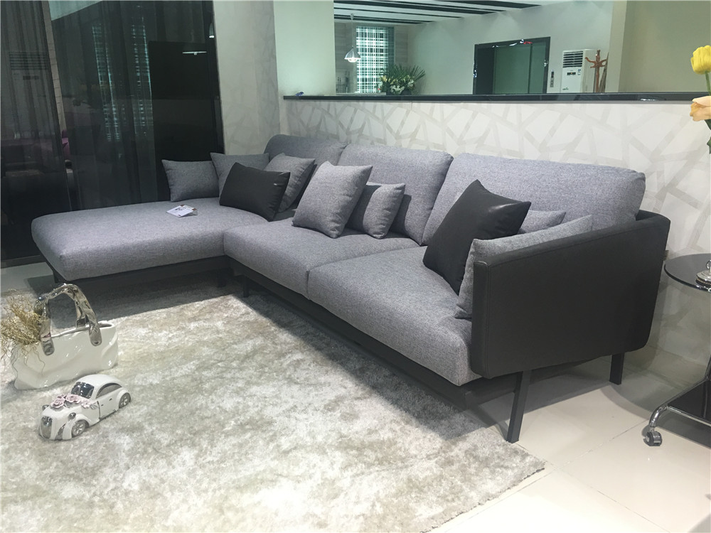 Europe Style Furniture New Modern Grey Color Fabric Sofa Set - Buy Wood  Furniture Sofa,New Design Sofa,Seven Seater Sofa Product on Alibaba.com